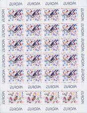"2004 EUROPA CEPT Croatia Mini-sheets ""The Holidays"" MNH"