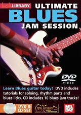 LICK LIBRARY-ULTIMATE BLUES JAM SESSION-GUITAR DVD/CD SET-SEALED BRAND NEW SALE!