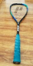 Squash Prince Extender Os Wall Banger Squash Racquet and cover