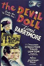 THE DEVIL DOLL (1936) DVD HORROR