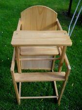 Hochstuhl Holz Kindertisch mit Stuhl