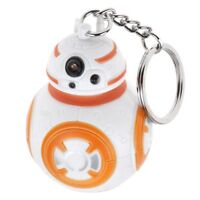 Hot Star Wars Keychain Force Awakens BB8  Light Up Torch With Sound Cool Gift