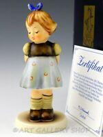 "Hummel Goebel Figurine 4"" TWO HANDS ONE TREAT GIRL #493 Mint Box"