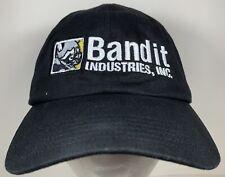 Bandit Industries Racoon Cap Construction Bulldozier Tractor Backhoe Hat Dirt