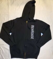 Henhouse Brewing Zip-up Hoodie Sonoma County craft beer, men's size large