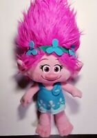 "Poppy Pink Troll Plush 18"" Dreamworks Trolls Movie Doll Stuffed Toy 2016"