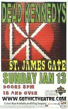 DEAD KENNEDYS 2002 DENVER CONCERT TOUR POSTER - Hardcore Punk Rock Music