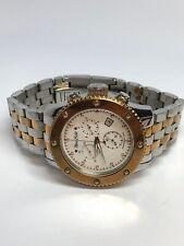 Marc Ecko Mens Stainless Steel Two Tone Quartz Chronograph Watch