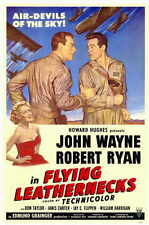 FLYING LEATHERNECKS Movie POSTER 11x17 John Wayne Robert Ryan Janis Carter Don