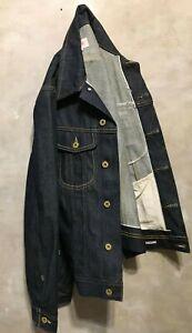Emmett Jeans Men Selvedge Denim S Jacket 2PJ Rider Workwear Trucker Japanese NEW