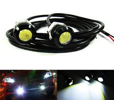 Bolt On Screw 3W LED Eagle Eye Backup Light Fog Driving Lamp Car ATV Motorcycle