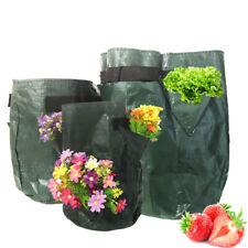 5 7 10 Gallon Strawberry Grow Bag Garden Planting Pot Tomato Potato Vege Planter
