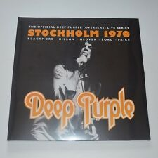 DEEP PURPLE - STOCKHOLM 70 - 2014 LTD. EDITION 3LP NEW & SEALED