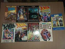 Lot of 9 Marvel The Uncanny X-Men Graphic Novel Trade Paperbacks TPB Wolverine
