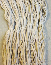 150 Wool Strips for Primitive Rug Hooking size #6 Very Primitive Oatmeal