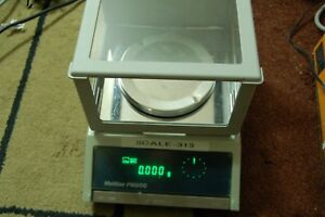 Mettler PM200 analytical lab scale digital balance  delta range  1 mg xdfc