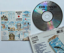 John Lennon Shaved Fish Best Of... CD Capitol/EMI the beatles george harrison