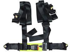 (CLOSEOUT) NRG BLACK 4 POINTS SEAT BELT HARNESS