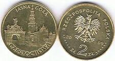 Czestochowa 2009 Stadtserie 2 Zl Muenze Nordic Gold Bfr,