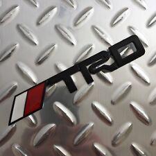 New - Toyota™ TRD Black Metal Emblem Badge Logo Camry Corolla Tundra FJ Tacoma