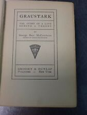 GRAUSTARK George Barr McCutcheon ANTIQUE Classic RARE