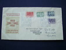 FDC E10 - E 10 Eeuwfeest postzegel 1952