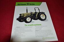 Hurlimann XE 305 XE 306 XE307 Tractor Dealers Brochure  LCOH