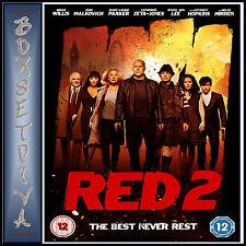 RED 2 -  Bruce Willis & John Malkovich  **BRAND NEW DVD **