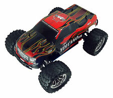 1/10 VOLCANO S30 Redcat Nitro RC Truck 2.4ghz Remote Red Flame with Starter Kit