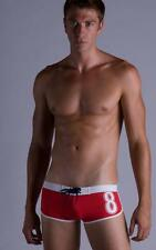 "Timoteo Surf Team Compete Red Swimwear Made in USA ""X-Large"""