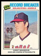 1977 TOPPS OPC O PEE CHEE BASEBALL #264 NOLAN RYAN RB NM ANGELS ASTROS N Y METS