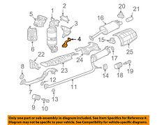 HONDA OEM 06-15 Civic 1.8L-L4 Exhaust-Manifold Stay 18198RNAA00