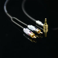 5M 16FT Monster Prolink Standard 100 Audio Cable Stereo 90° 3.5mm to 2RCA MP3 CD