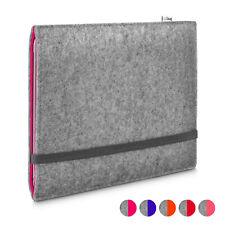 Portada Apple iPad (2018) funda de fieltro FINN gris claro ROJO