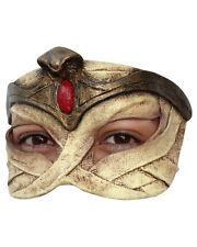 Egyptian Mummy Queen Half Mask Latex Halloween Costume Accessory Prop Asp