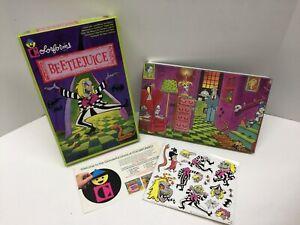 Colorforms Vintage 1989 Beetlejuice Set NEW (OPENED) MIB Complete & UNUSED