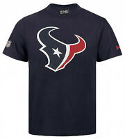 New Era Houston Texans NFL On Field Fan M L XL XXL Tee Camiseta Hombres Nuevo