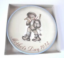 Schmid 1972 Mother's Day Plate