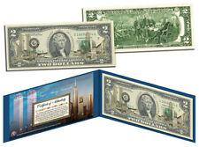 USA $2 Dollar Bill WTC 9 / 11 10th Anniversary GOLD HOLOGRAM Legal Tender