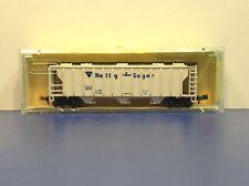 "N Scale ""Holly Sugar"" GACX 42764 3-Bay Covered Hopper Freight Train"