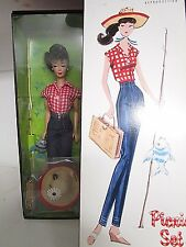 2005 Barbie Repro 1959 PICNIC Set Doll Collectors Request Gold Label New