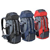 70L Large Camping Backpack Outdoor Sports Hiking Rucksack Travel Shoulder Bag