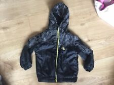 NEXT BOY'S BLACK JACKET WITH HOOD AGE 6 YEARS