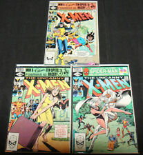 The Uncanny X-Men 3Pc Lot/Run (Vf-Nm)