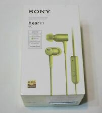 Brand New Sealed Sony MDR-EX750NA h.Ear Noise Canceling In-Ear Hi-Res Headphones