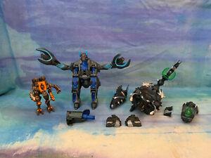 Bakugan Venexus Titan Figure 230g and Dharak Colossus - Sega Spin Master