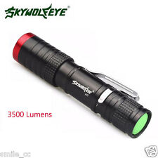 3500 Lumens 3 Modes XML XPE LED Flashlight Torch Outdoor Camping Lamp Light