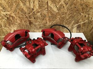 Volkswagen VW Golf GTI MK7 Brakes Callipers w. Carriers Front & Rears (Electric)