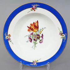 (MT045) Meissen Suppenteller Marcolini Periode 1774-1814, D=22cm, 1. Wahl