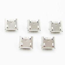 20Pcs Micro USB Type B Female Socket 4 Vertical Legs fixed Solder Connectors